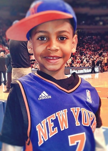 fuckyeahbasketballbkn:  Happy birthday, Kiyan Carmelo Anthony !