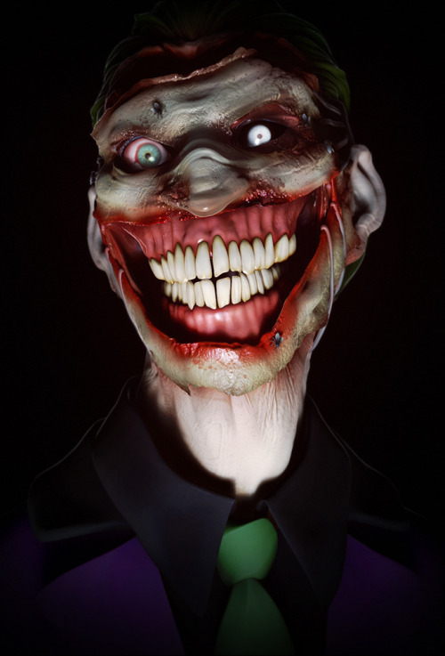 The Joker by K4ll0 (via bluedogeyes) Artist tumblr / deviantart