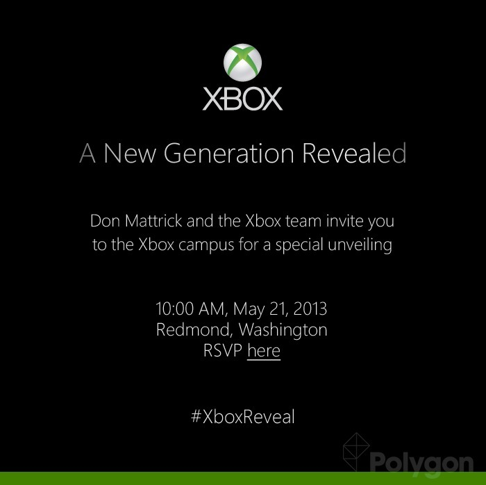 So here we have it. Microsoft is set to reveal their next iteration of the Xbox in style May 21, 2013. What do you think we'll see? Or more importantly do you see this as being more media heavy or game centric?