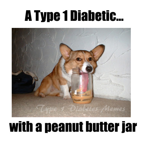 "Is it just me, or do we all have a weird peanut butter obsession.. that and diet coke. As Bob Hamrick posted….""Peanut Butter is God's apology for diabetes."" Truth. Created by Meredith M."