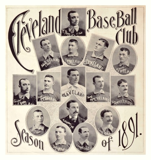 1891 Cleveland Spiders Team CompositeIncluding a very young Cy Young.