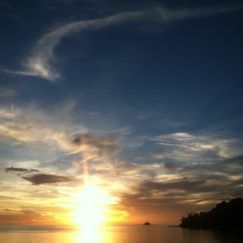craaazy #sunset in #micronesia