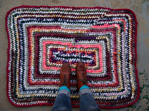 Chia Crochet Rag Rug in my shop.