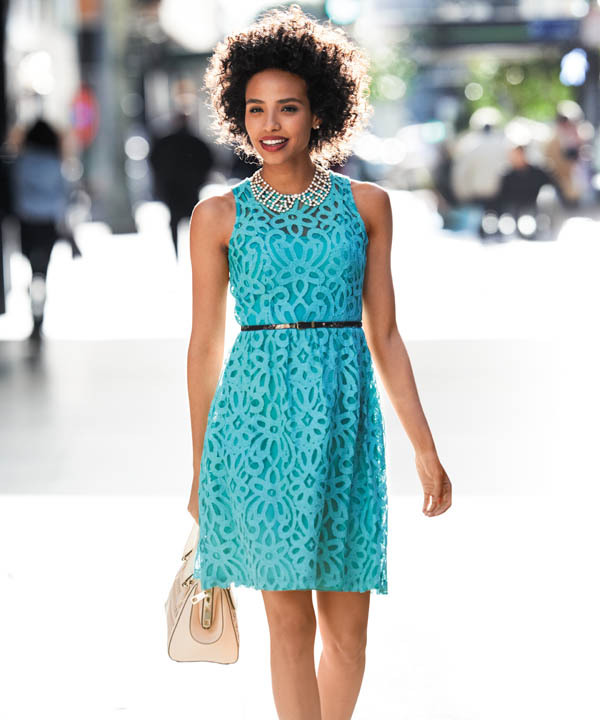 Trending: Embracing Lace This feminine classic is making a comeback. (High res)