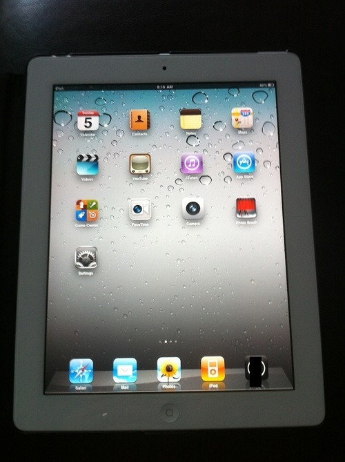 Giveaway hey guys! I won a white ipad 2 wifi 16gb in a raffle that I honestly doubted I'd win and I already have an ipad, so, I'm gonna give it away! reblog as many times as you want Click Here Follow me !