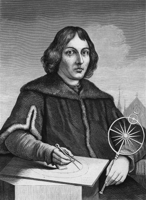 Nicolaus Copernicus (Astronomer, Mathematician) born February 19, 1473