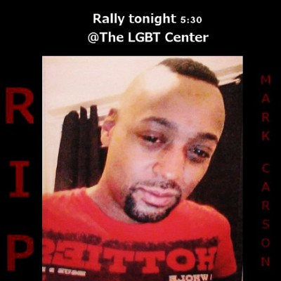 Rally against anti-LGBTQ violence tonight at the NYC LGBT center - for Mark Carson for Camila Guzman for Matthew Shepard for all those who have experienced violence because someone thought their sexual orientation or gender identity was wrong - so that ALL people can live free from violence - come to this march - have your voice be heard - let the haters know that we are here and we are strong - the more you try to silence me the louder I become! #lgbtq #humanrights #transphobia #homophobia #newyork #newyorkcity #lgbtqcenter #love #violence #march #hatecrime #markcarson #gay #lesbian #transgender #bisexual #queer #matthewshepard #camilaguzman #rally #tonight #community www.avp.org
