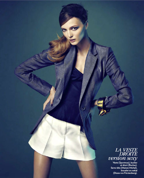 """1 Basique 2 Styles"" (+) Marie Claire France, January 2013 photographer: Nelson Simoneau Alex Sandor"
