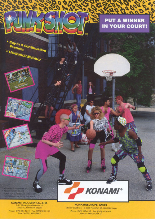 gracie-law:  Basketball + rollerblades + neon coolots = PUNK ROCK
