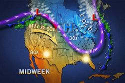 Pittsburgh, DC, Philly: Springlike, Then Colder  Don't get too comfy, Northeast, this spring preview is not going to stick around for long.