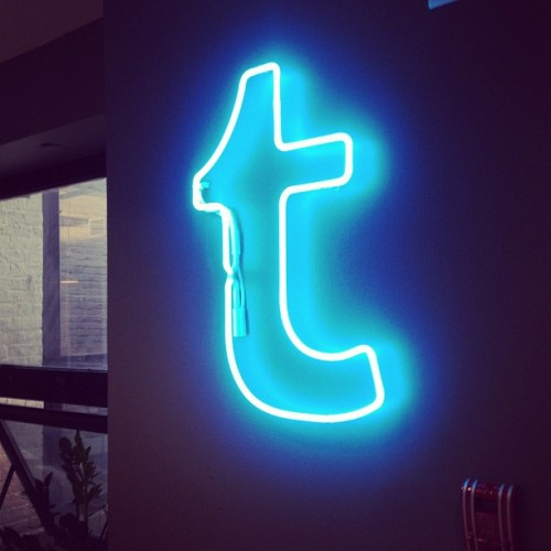 Always fun times coming to tumblr hq (at Tumblr HQ)