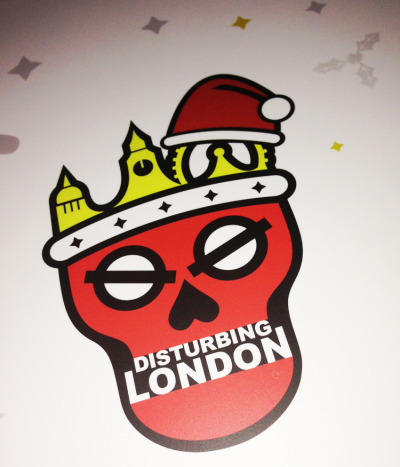 Disturbing London Christmas Card