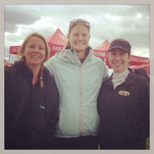 Today I met two time Olympic gold medalist in the Women's 8+ Susan Francia! #rowing #starstruck