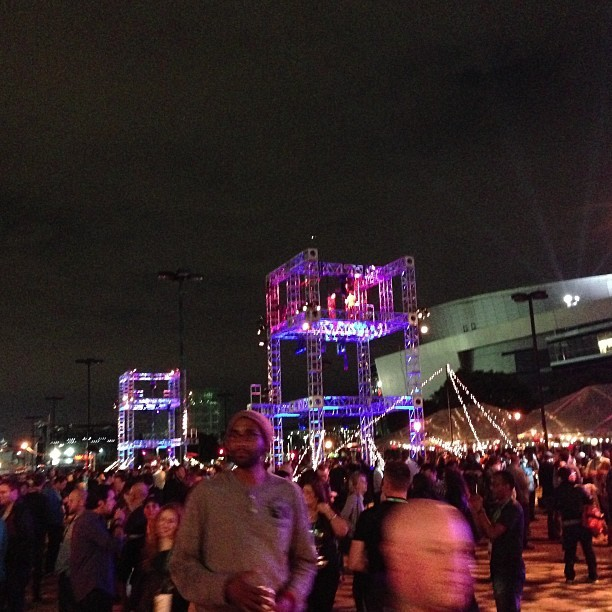 Party time at #AdobeMAX Bash (at AdobeMAX BASH 2013)