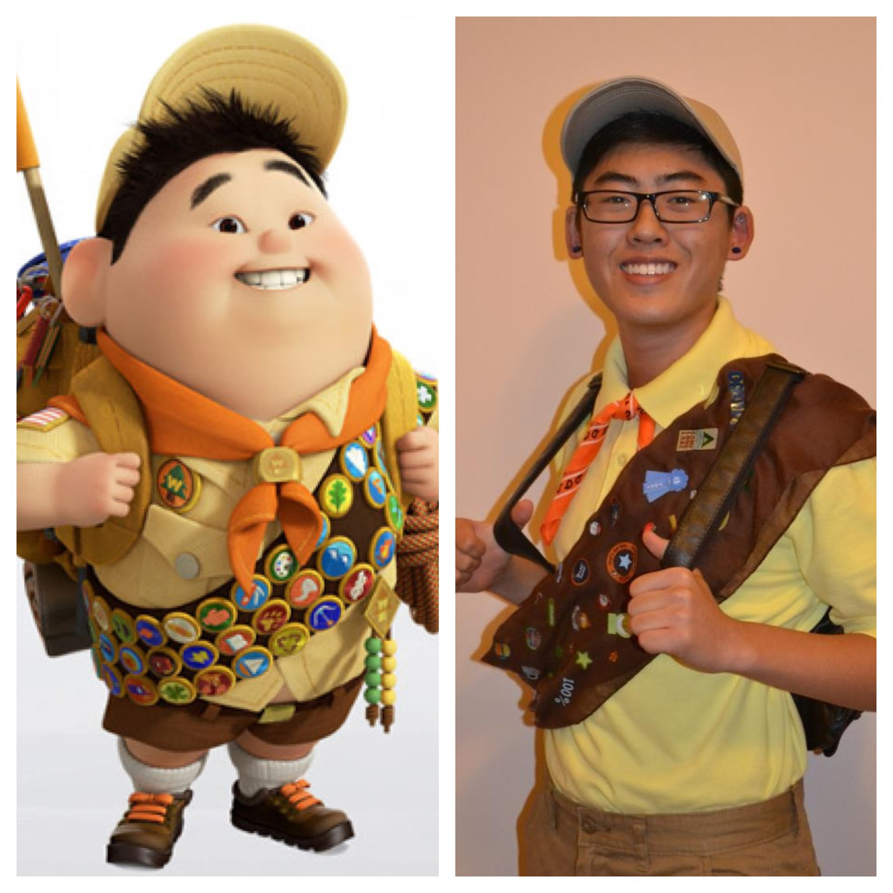 Russell from the movie UP