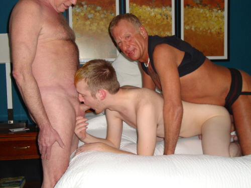 Fucking this slut boy bareback!