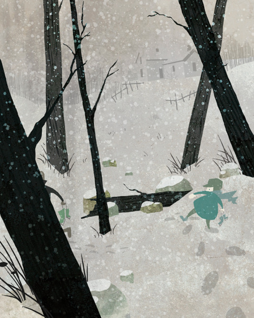 theartofanimation:  C. Billadeau