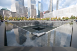 Photo: Richard Silver. World Trade Center Memorial, New York City.