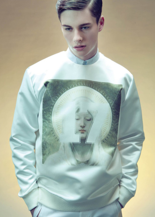 strangeforeignbeauty:  Joe Collier by Pieter Henket  [ fave models | 1000+ notes | facebook | twitter ]