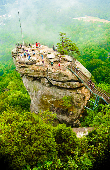 illusionwanderer:  Chimney Rock, North Carolina by Darryl Montgomery  I want to go to there.