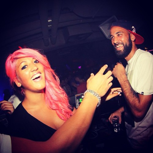 Fear The Beard! #tbt #throwback #beard #pink #hair @mizzwatermelon / on Instagram http://bit.ly/14ScjDS