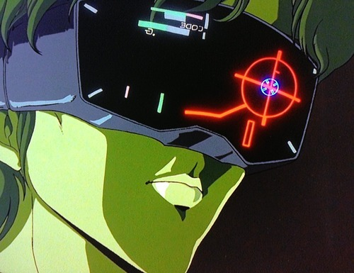 visualpunker:  Futuristic User Interface 15:   Cyberpunk UIs from Anime Movies VI.