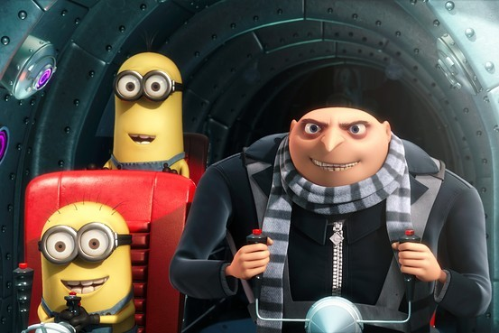 ~Despicable Me~  If you don't like this movie, there's something wrong with you and you should probably see a doctor.