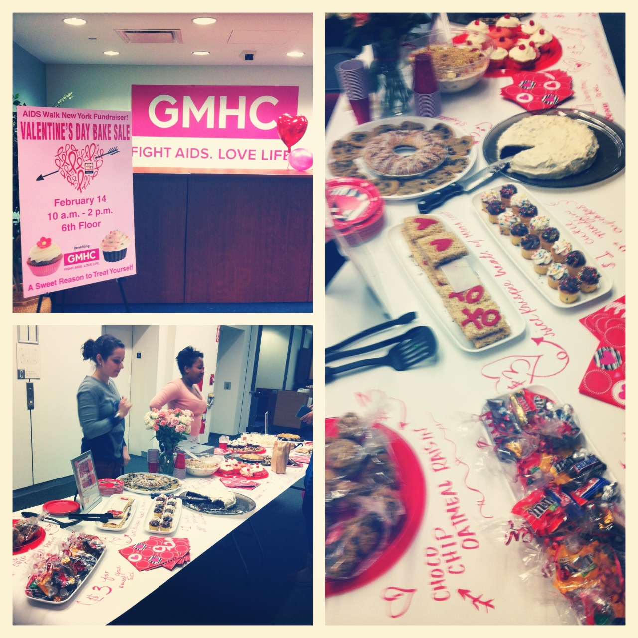 #ValentinesDay Bake Sale at @GMHC!