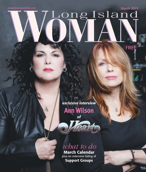 nancywilsonswhizfingers:  Ann and Nancy on the Cover of Long Island Woman - March 2013   Thank you Kristen for the heads up :)