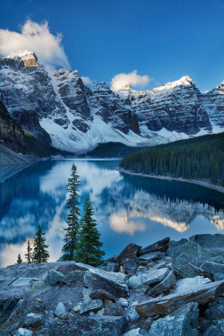 travelingcolors:  Valley of Ten Peaks | Canada (by Sarah Marino)