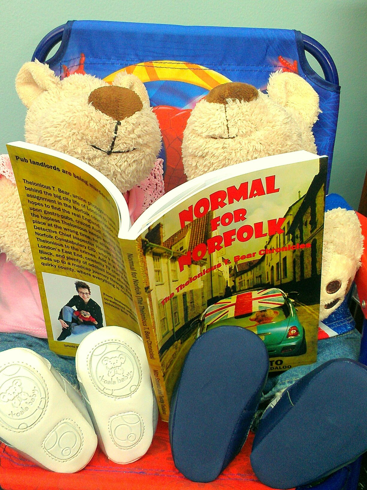 Readers continue to flock to buy their copies of NORMAL FOR NORFOLK (THE THELONIOUS T. BEAR CHRONICLES). http://mitziszereto.com/normalfornorfolk/