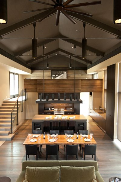 remash:  sun valley shack | great room ~ signum architecture
