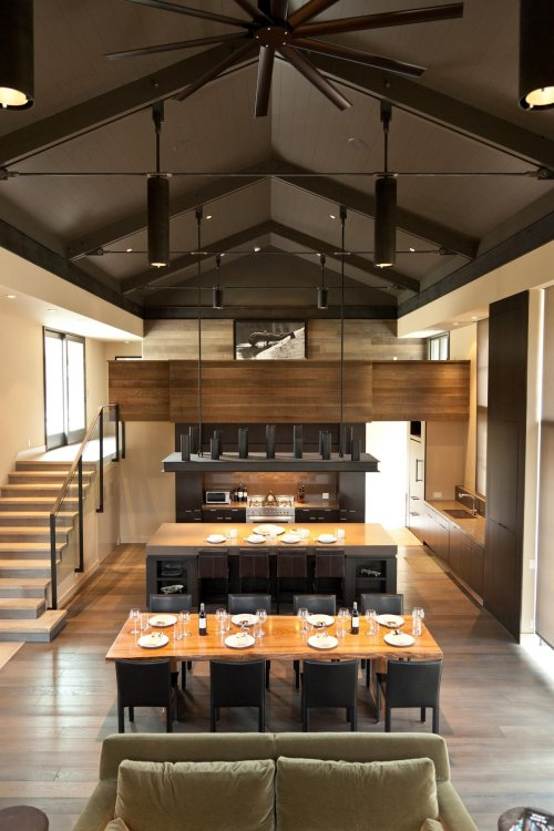 sun valley shack | great room ~ signum architecture
