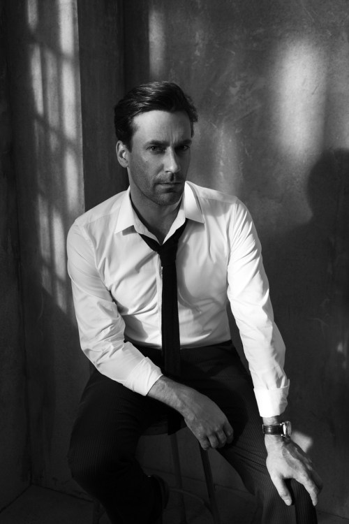 lifestyleoftheunemployed:  Lifestyle of the Unemployed   Jon Hamm by Lorenzo Agius   Jon Hamm