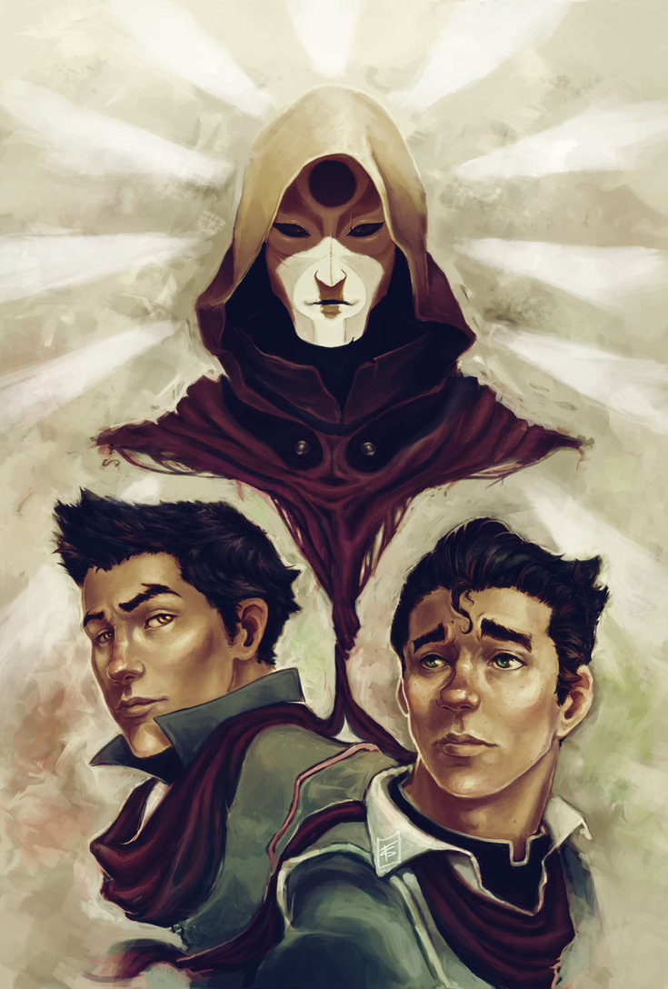 thenderson:  This is pretty cool art  Bolin's face :'D