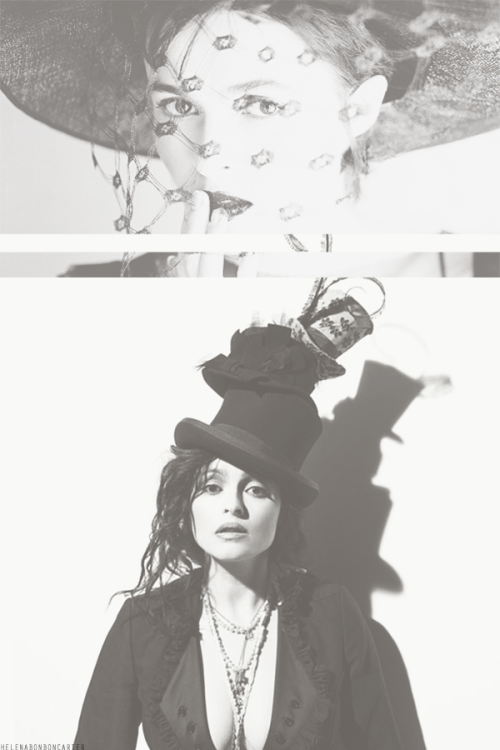 "helenabonboncarter:  Helena Bonham Carter ♔  ""I'd rather make people feel better about themselves than make them feel crappier or insecure"""
