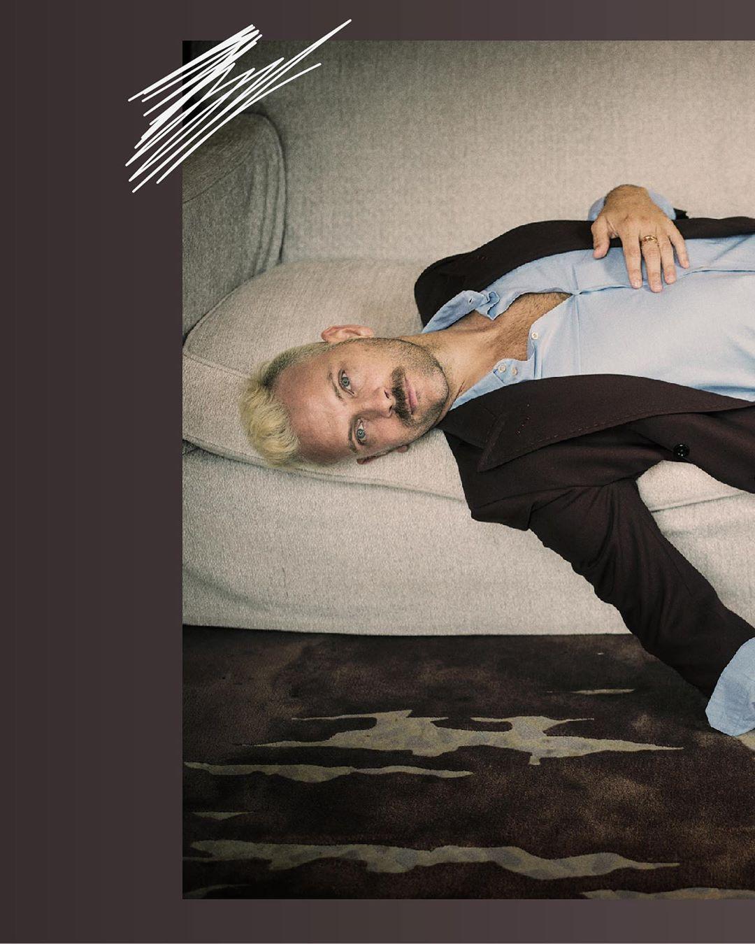 Alessandro Borghi for ICON Magazine #Alessandro Borghi#ICON Magazine#Photoshoot