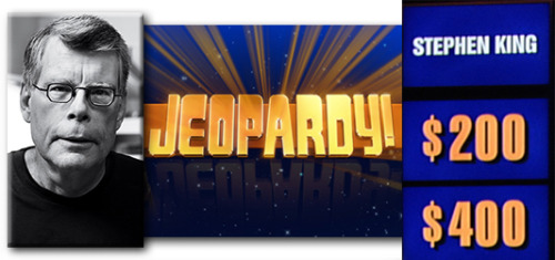 Stephen King gets his own Jeopardy! category—tune in tonight!
