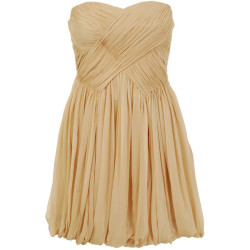 laughinginthemirror:  TIBI dress ❤ liked on Polyvore (see more pleated dresses)