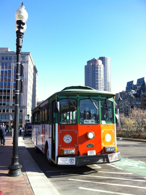 Trolley Tours - Boston, MA Image ©Tiffany Detweiler