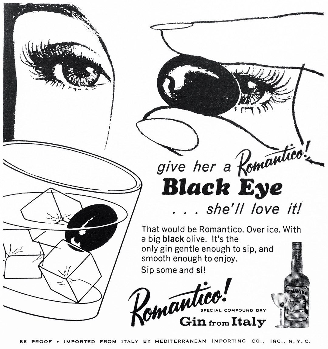 Romantico Advertisement - Gourmet: April 1966