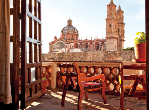 Room With a View | El Estudio Suite, Hotel Mi Casita, Taxco, Mexico