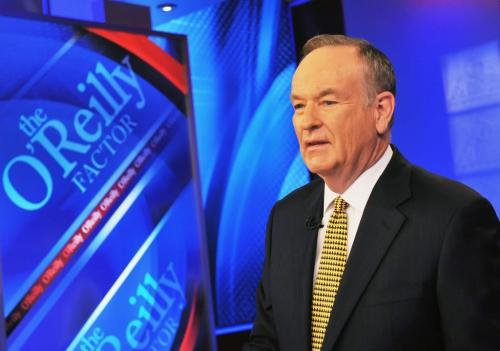 "ccindecision:  Bill O'Reilly, 2005: ""The secular progressive movement would like to have marriage abolished, in my opinion. They don't want it, because it is not diverse enough. You know, that's what this gay marriage thing is all about. But now, you know, the poly-amorphous marriage, whatever they call it, you can marry 18 people, you can marry a duck."" Bill O'Reilly, last night: ""The compelling argument is on the side of homosexuals. That's where the compelling argument is. 'We're Americans, we just want to be treated like everyone else.' That's a compelling argument. And to deny that, you've got to have a compelling argument on the other side. And the other side hasn't been able to do anything but thump the bible."" Either O'Reilly evolved or his messy divorce is making the duck marriage thing look kinda tempting. Photo by Slaven Vlasic/Getty Images News/Getty Images  Bill O Riley sure loves to run his mouth. None the less it is quite entertaining to see him get pwned by Jon Stuart when they face off."