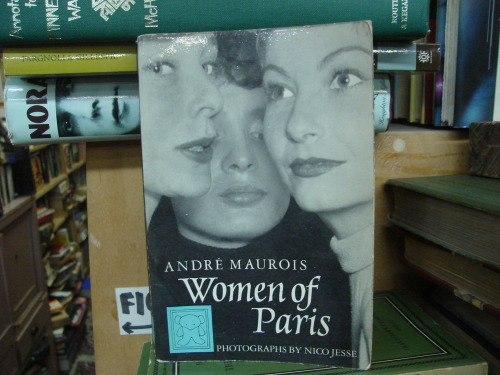 macleodsbooks:  Women of Paris by Andre Maurois (photographs by Nico Jesse)  yay, I'm the lucky girl who snagged this one