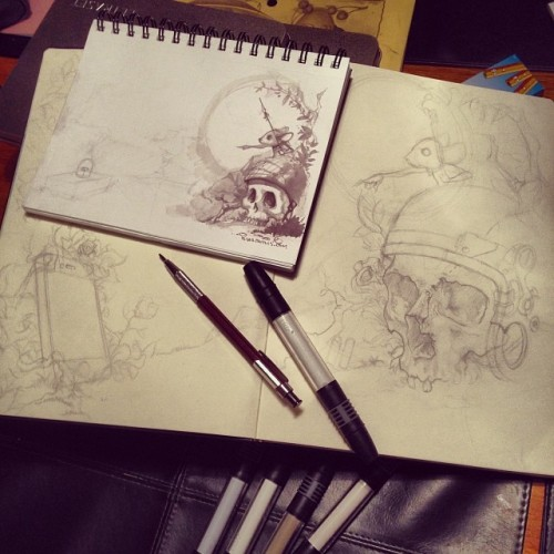 showslow:  Sketches by Ilias Patlis | Tumblr | Instagram