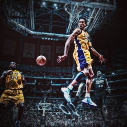 jcorva:  Kobster the monster #nba #kobe #shaq #lakers #awesome #bestoftheday #instago #instahub #instadaily