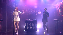 latenightjimmy:  Icona Pop gave their first ever late night TV performance on the show last night and KILLED it.   Can't wait to see this in person.