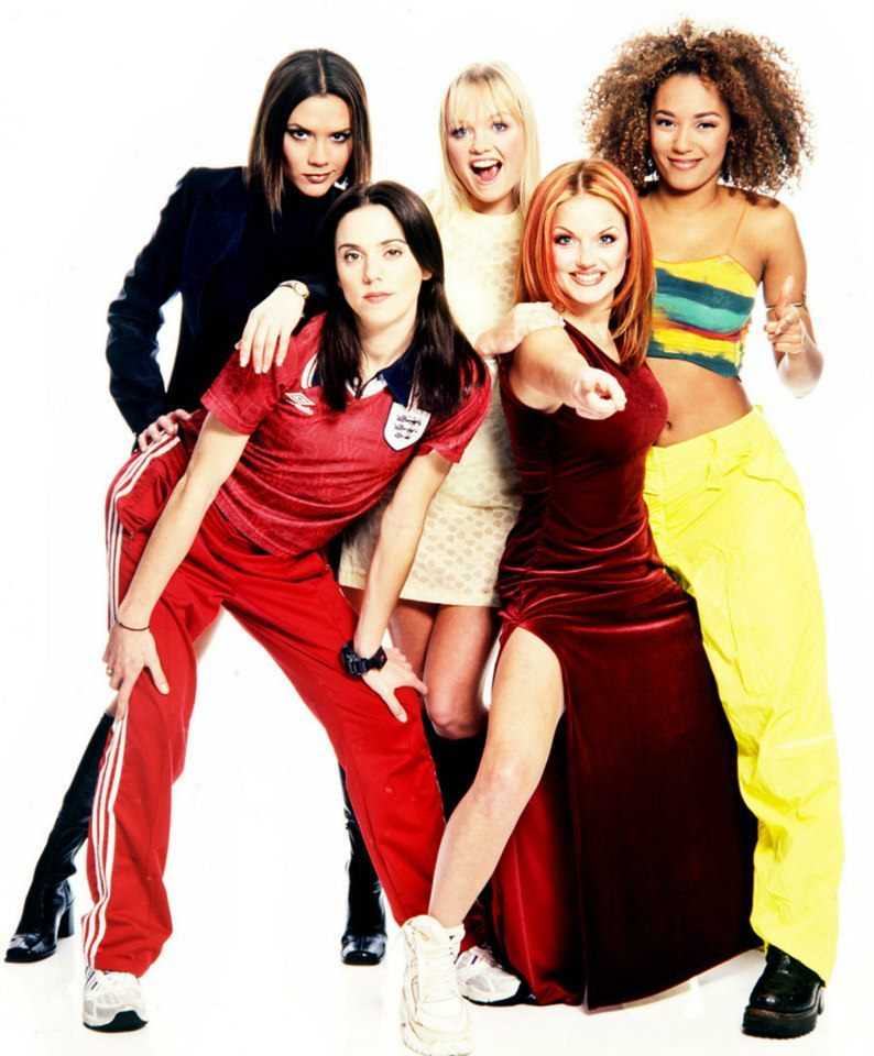Always the big group in the world SPICE GIRLS #GIRL POWER.