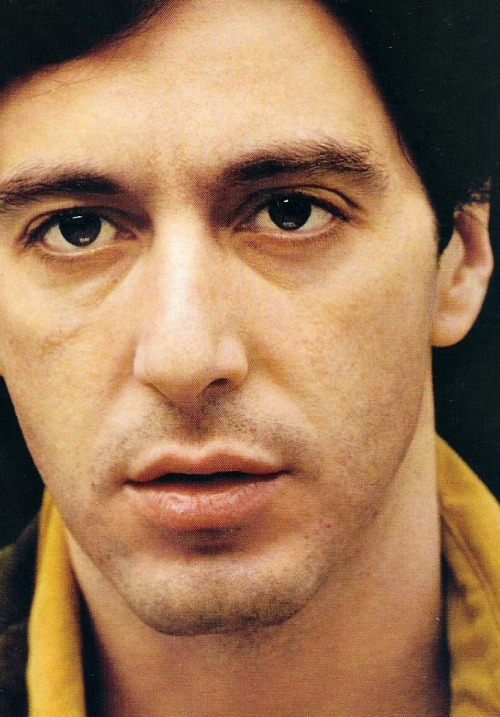 "Happy Birthday Al Pacino! (25 April, 1940)  ""He is literally incapable of doing anything fake."" - Sidney Lumet"