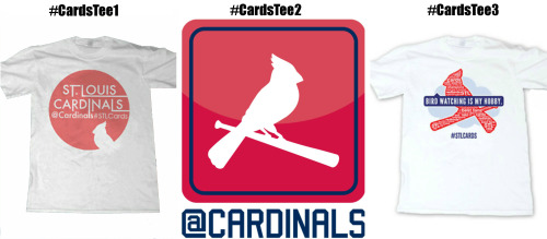 Which Cardinals social media t-shirt design has your vote? Cast it on Twitter using #CardsTee1, #CardsTee2 or #CardsTee3 with your vote!